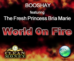 WORLD ON FIRE BOX AD