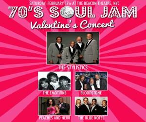 70s Soul Jam Valentines Concert