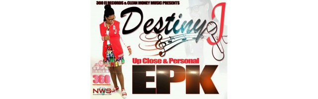 """Straight """"A"""" Florida High School Freshman Destiny J enters the rap game and releases her first EPK on www.newworldstation.com!!"""