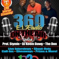 360EI Radio New Time Slot - Thursday's 8 pm to 10pm!