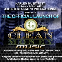 Clean Money Music Movement New York Audition & Showcase